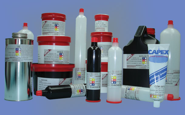 Capex Inks offer a variety of pack types and sizes